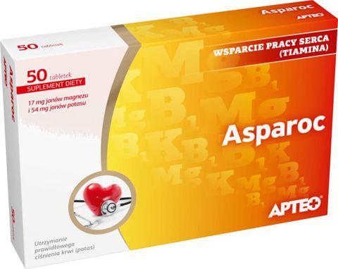 APTEO Asparoc x 50 tabletek