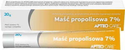 APTEO CARE Maść propolisowa 7% 20g