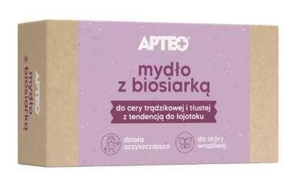 APTEO Care Mydło z biosiarką 100g x 1 sztuka