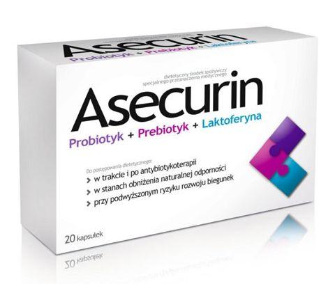 ASECURIN x 20 kapsułek