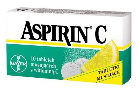 ASPIRIN C x 10 tabl. musujących