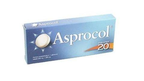 ASPROCOL x 20 tabletek
