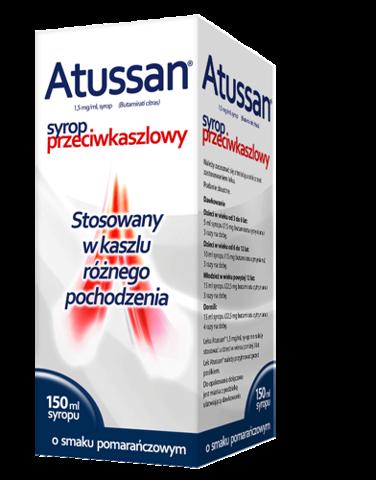 ATUSSAN syrop 1,5mg/ml 150ml