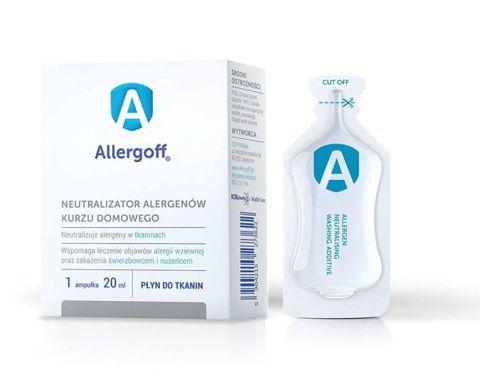 Allergoff Płyn do tkanin neutralizator alergenów 20ml x 6 sztuk