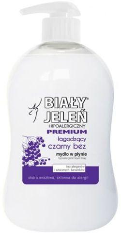 BIAŁY JELEŃ Hipoalergiczne mydło w płynie z ekstraktem z czarnego bzu 300ml