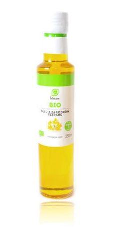 BIO Olej z zarodków rzepaku 250ml - data ważności 10-06-2017r.