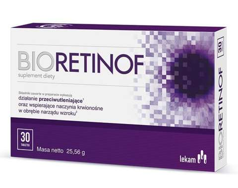 BIORETINOF x 60 tabletek