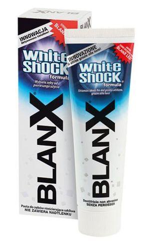 BLANX WHITE SHOCK Wybielająca pasta do zębów 75ml