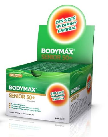 BODYMAX SENIOR 50+ x 30 tabletek (1 blister)