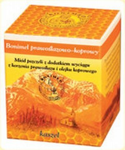 BONIMEL Prawoślazowo-koprowy miód leczniczy 250g