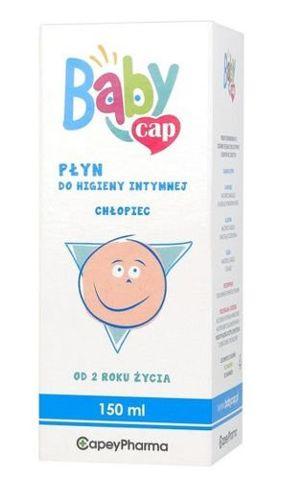 BabyCap Płyn do higieny intymnej chłopiec 150ml