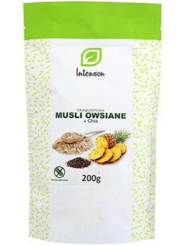 Bezglutenowe Musli owsiane + Chia 200g