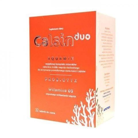 CALSIN DUO x 32 tabletek do ssania
