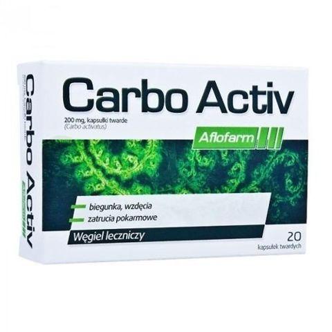 CARBO ACTIVE 200mg x 20 kapsułek