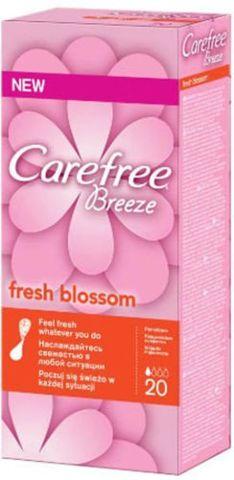 CAREFREE Breeze Fresh Blossom wkładki x 20 sztuk