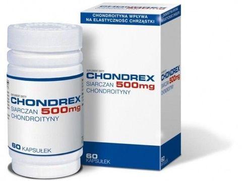 CHONDREX 500mg x 60 kapsułek