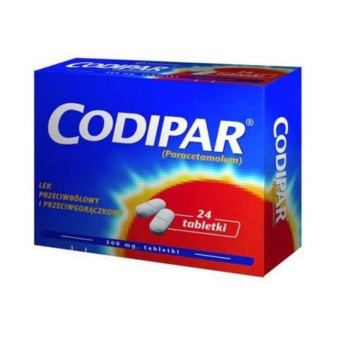 CODIPAR x 24 tabletki