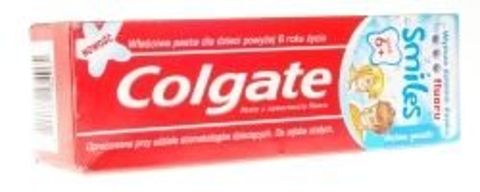 COLGATE Pasta Junior Smiles 2-6 lat miętowa 50ml
