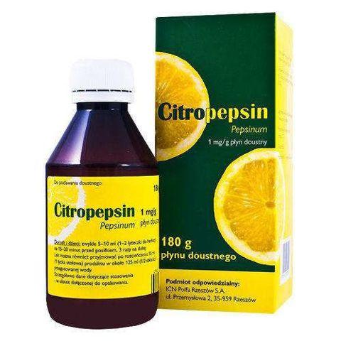 Citropepsin płyn doustny 180ml