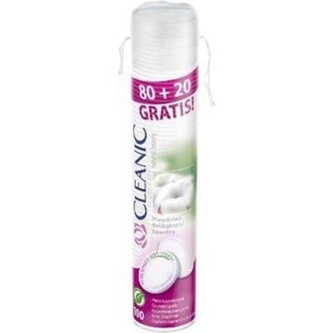 Cleanic Pure Effect płatki kosmetyczne 80+20 sztuk