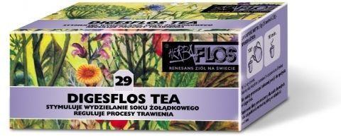 DIGESFLOS TEA 29 Fix 2g x 25 saszetek