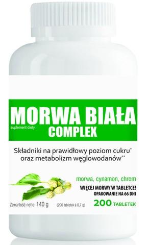 DOMOWA APTECZKA MORWA BIAŁA Complex x 200 tabletek