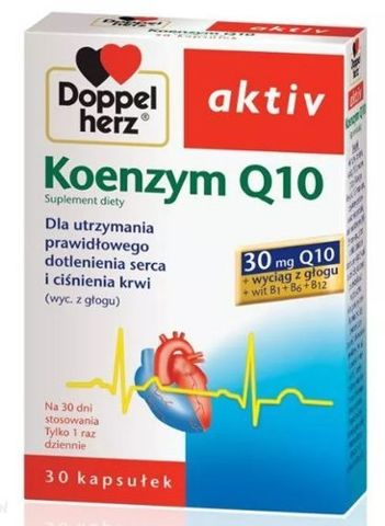 DOPPELHERZ Aktiv Koenzym Q10 x 30 kapsułek