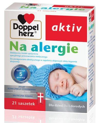 DOPPELHERZ Aktiv na alergie x 21 saszetek