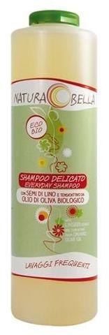 Delikatny szampon z siemieniem lnianym i oliwą z oliwek do częstego stosowania 500ml