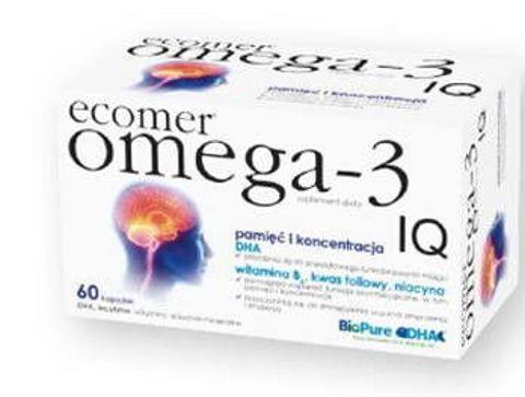 ECOMER OMEGA-3 IQ x 60 kapsułek