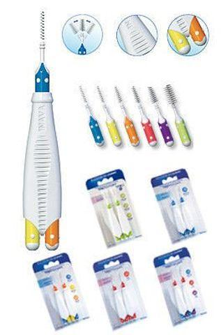 ELGYDIUM Clinic Trio Large Compact Szczoteczka do zębów x 2 sztuki