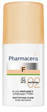 ERIS Pharmaceris F Fluid matujący zwężający pory SPF25 02 Natural 30ml