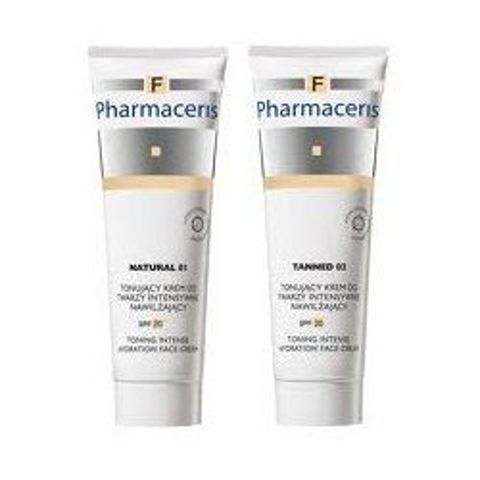 ERIS Pharmaceris F krem tonujący do twarzy 02 Tanned 30ml