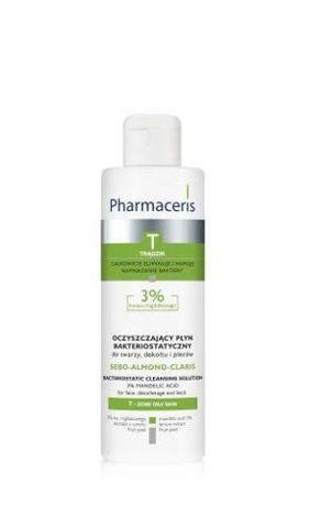 ERIS Pharmaceris T Sebo-Almond Claris Oczyszczający płyn bakteriostatyczny 190ml