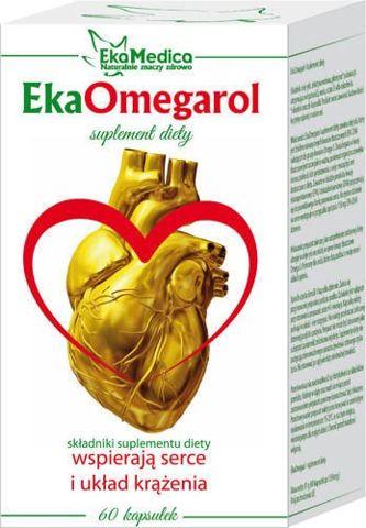 EkaOmegarol x 60 kapsułek - data ważności 31-05-2017r.