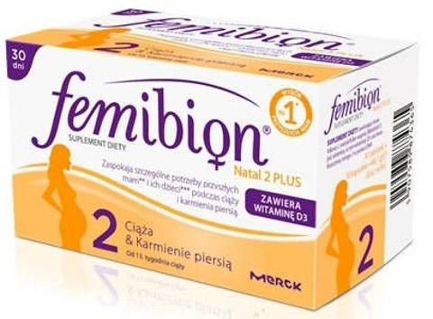 FEMIBION Natal 2 Plus x 30 tabletek + 30 kapsułek