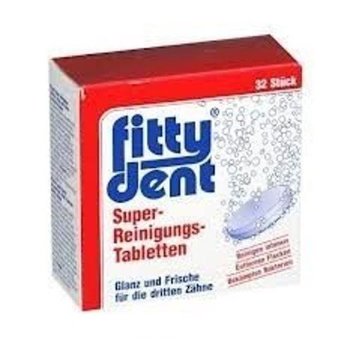 FITTYDENT x 24 tabletki do czyszczenia aparatów ortodontycznych