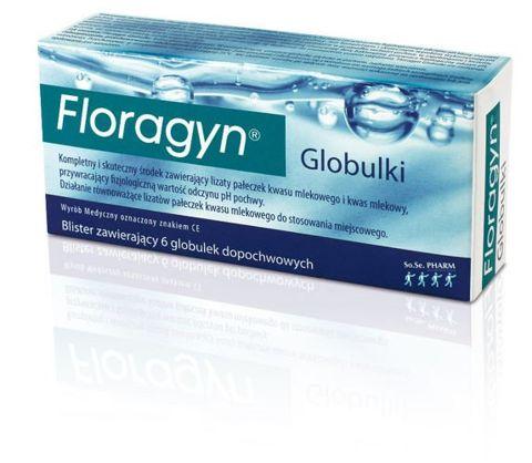 FLORAGYN x 6 globulek
