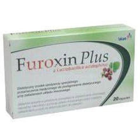 FUROXIN PLUS x 10 kapsułek