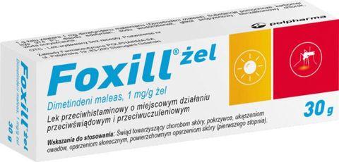 Foxill żel 1mg/g 30g