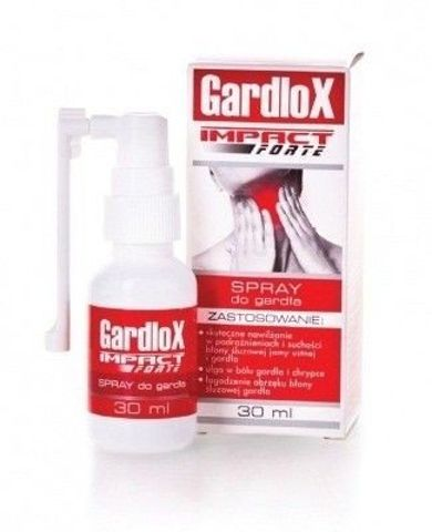 GARDLOX IMPACT FORTE spray do gardła 30ml