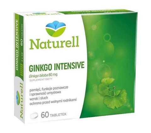GINKGO INTENSIV x 60 tabletek