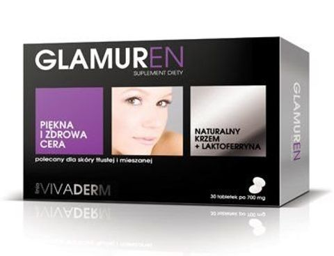 GLAMUREN 0,7g x 30 tabletek
