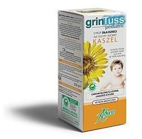 GRINTUSS PEDIATRIC Syrop 210g