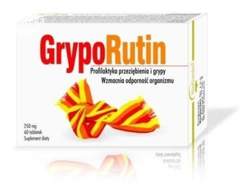 GRYPORUTIN 0,25 g x 60 tabletek