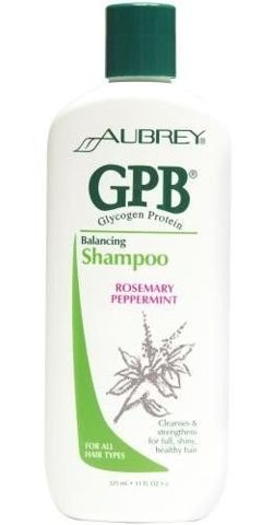 Glikogenowo - proteinowy szampon przywracający włosom równowagę o zapachu Rozmarynu i Mięty 325ml