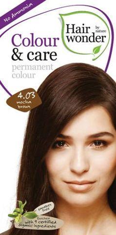 HAIRWONDER Colour & Care Farba do włosów 4.03-MOCHA BROWN 100ml