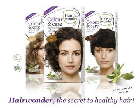 HAIRWONDER Colour & Care  Farba do włosów 4.56 AUBURN 100ml