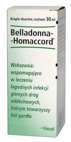 HEEL Belladonna-Homaccord krople 30ml