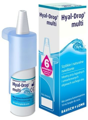 Hyal-Drop Multi krople 10ml